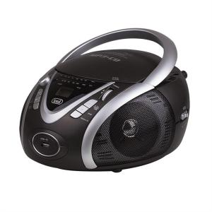 CMP-542 Compact Portable Ghettoblaster CD Player USB MP3 Black Black