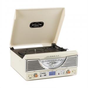TT-1062E Impianto stereo vintage bianco bianco