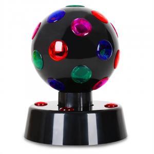Disco-Ball-4-B LED-Lichteffekt Schwarz 13,5cm