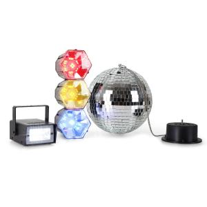 Disco Fever Mega Party Set sfera strobo semaforo