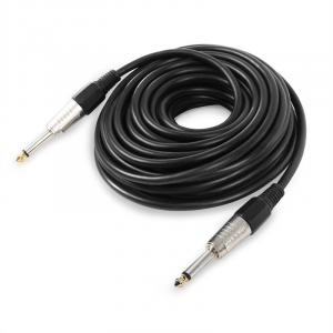 6.35 mm Jack Male to 6.35mm Male Jack Cable 10m Mono