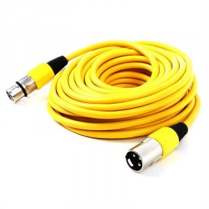 XLR-Cable 10m Yellow