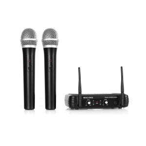 UHF 250 Duo1 Wireless Microphone System 2-Channel UHF 2 x Handheld-Microphone