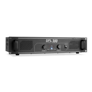 SPL 300 Wzmacniacz audio DJ-PA 300W LED Czarny | Brak wyboru | 2x 150 W (4 Ohm)