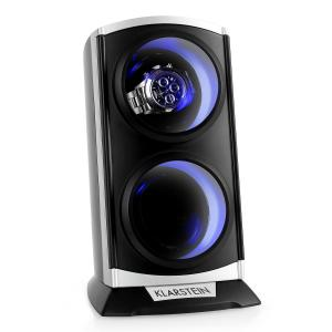 St.Gallen Premium watch winder 2 ur LED Svart