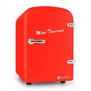 Mini Taverna Portable Cooler 4L Cool Box - Red Red