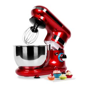 Serena Rossa Robot de cocina 600W 4 piezas rojo Rojo