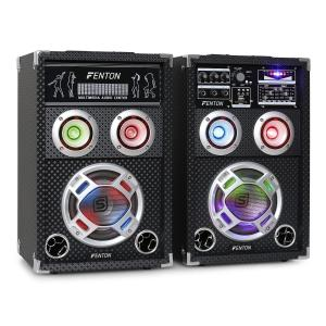 "Skytec KA-06 Karaoke PA Speakers Set 400W USB SD 16.5 cm (6.5"")"