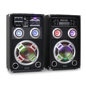 """Skytec KA-08 set di altoparlanti karaoke 600W 20 cm (8"""")"""