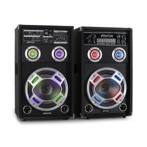 """Skytec KA-10 set di altoparlanti karaoke 800W 25 cm (10"""")"""
