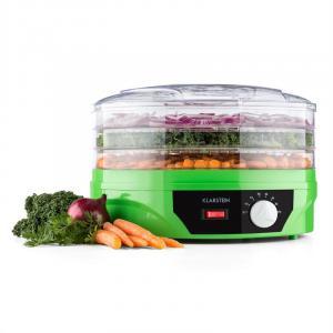 Suszarka do produktów spożywczych,260W, termostat Zielony