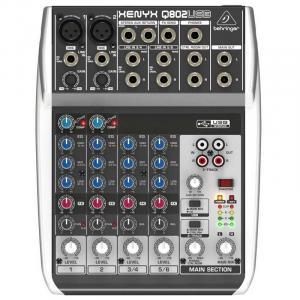 Xenyx Q802USB Mischpult 8 Kanäle USB-Interface