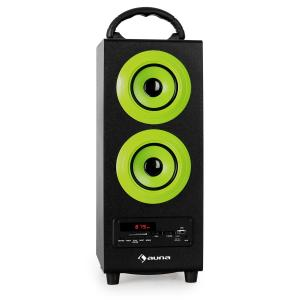 Beachboy Altavoz Bluetooth USB SD AUX Radio FM Verde | L