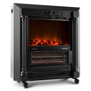 Grenoble Cheminée électrique chauffante ventilateur chaud 1850w -noir