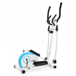 ELLIFIT BASIC 10 Hemtränare Crosstrainer 4 kg Pulsmätare blå/vit Blå