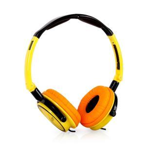 Street DJ Headphones Yellow/Black