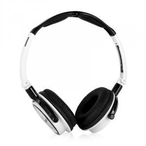 Street DJ DJ-hörlurar vit/svart