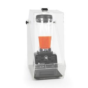 Herakles 3G tehosekoitin musta, suojuksella 1500 W 2,0 hv 2 l BPA-vapaa musta
