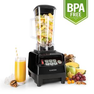 Herakles 5G Food Blender Smoothie Processor 2L 1500W 2 HP Black
