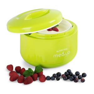 me & yo Yoghurt Maker 1 LitreBPA-Free Apple Green