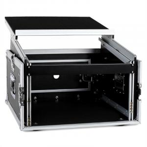 "SC-MLT6U Flight-Case en rack 19"" 10U 6U équerre de fixation 6U"