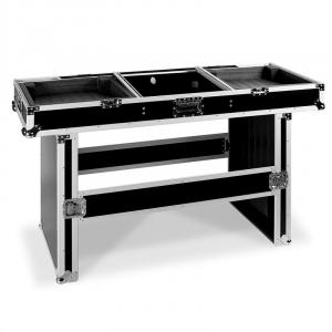 Professional DJ Coffin Case Table for CD Players & Mixer