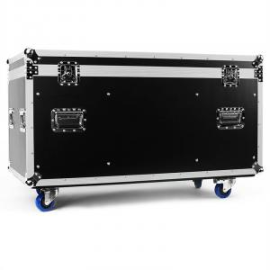 Transport Flight Case Box Multiplex 118 x 61 x 58cm wielen