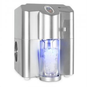Ice Volcano Eismaschine Silber LED 13kg Silber
