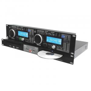 CDD500 Dual CD Player USB MP3 Pitch