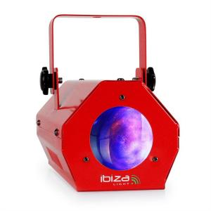 LCM003LED Moonflower LED RGBWA Red