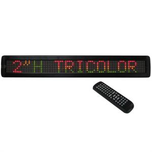 MOVING-MES15R LED Scrolling Text Ticker RGY