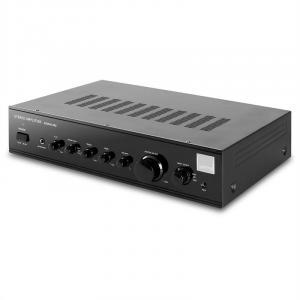 1305 HiFi Stereo-Verstärker 2 x 140W RMS Schwarz AUX Schwarz