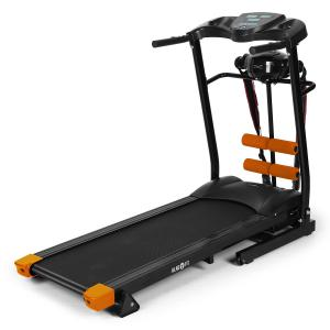 Treado Advanced Laufband Pulsmesser Bandmassagegerät Sit-up-Bank schwarz