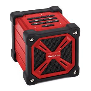 TRK-861 Portable Bluetooth Speaker Battery Outdoor Red