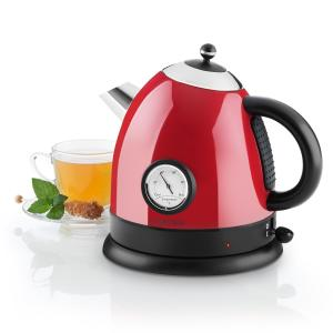 Aquavita Kettle 1.5L 2200w Stainless Steel Red Red