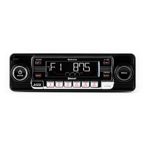 TCX-1-RMD Autorradio negro bluetooth USB SD MP3 AUX CD  Negro