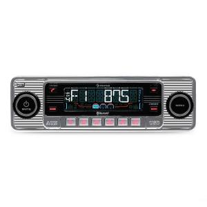 TCX-1-RMD Autoradio zilver Bluetooth USB SD MP3 AUX CD silver
