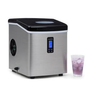Mr. Black-Frost Machine à glacons 150W acier 15kg Noir