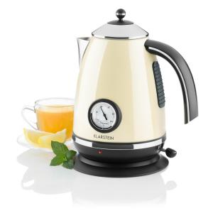 AquaVita Chalet Electric Kettle 1.7L 2200W Cream Creme