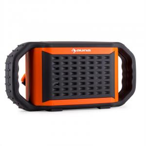 Głośnik Bluetooth Auna Poolboy pomarańczowy USB wodoszczelny