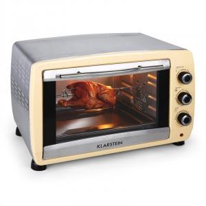 Omnichef 45C- Mini four de 45L avec grill & broche 2000w -crème Crème
