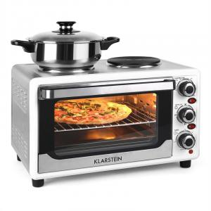 Omnichef 23HW Mini Oven with Hot Plates 1500W 23L White White