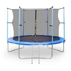 Rocketgirl XXL trampolino 305 cm rete sicurezza blu blu | 305 cm