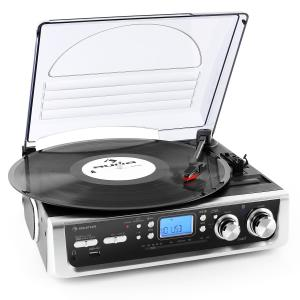 TT-196E stereoset platenspeler USB-MP3-FM/AM phono