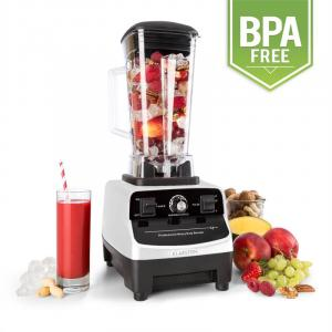 Herakles-3G Powermixer 1500W 2 liter wit Green Smoothie Wit