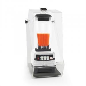 mixeur 2L blender caisson insonorisation 1500W 2,0 CV sans BPA - blanc Blanc