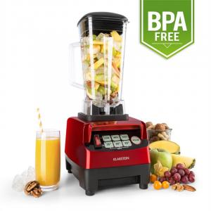 Herakles 5G Blender pour smoothie mixeur sur pied 1500W sans BPA -rouge Rouge