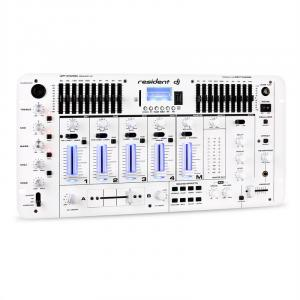 Kemistry 3 DJ Mixer 4-channel USB SD White White