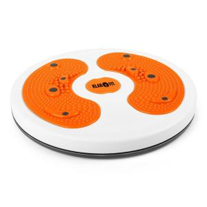 MyTwist Body twisterplatta fotmassage orange Orange