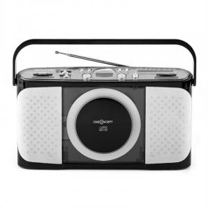 Boomtown-Beach portable CD-Player MP3 USB Radio vollmobil